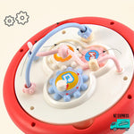 Baby colourful learning toy blocks showing gears