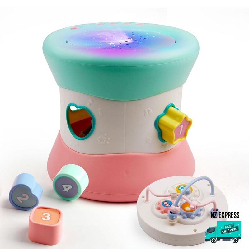 Baby colourful learning toy blocks with lights and music My Toy Hub