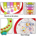 Baby colourful learning toy xylophone details zoomed