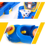 Basketball fun game toy in table in detail views