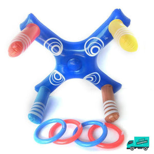 Cross Ring Toss Pool Toy My Toy Hub front view