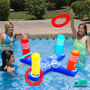 Cross Ring Toss Pool Toy My Toy Hub family fun play time