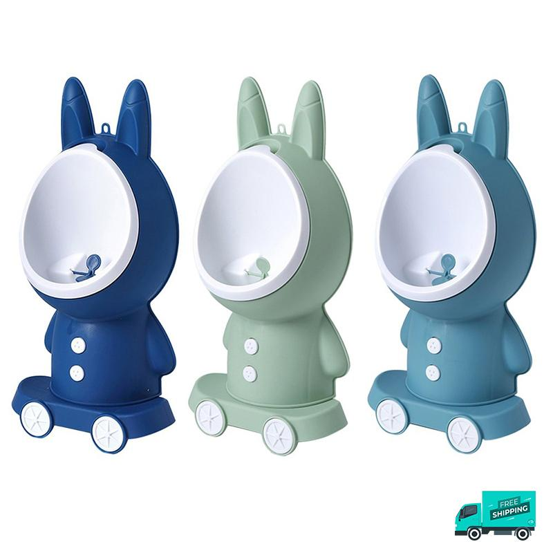 Cute Potty Toilet Urinal Training showing different colours
