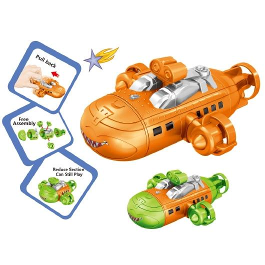 Educational assemble submarine toys
