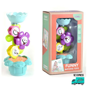 Flower water bath toy sprinkler My Toy Hub