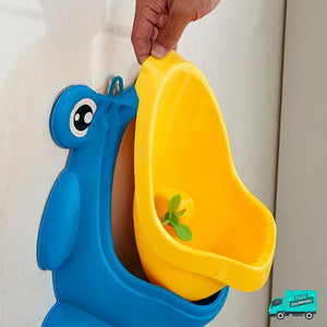 Frog toilet potty train urinal blue how to clean and install