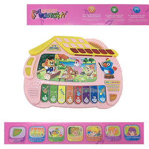 Kids educational piano toy with sounds and music