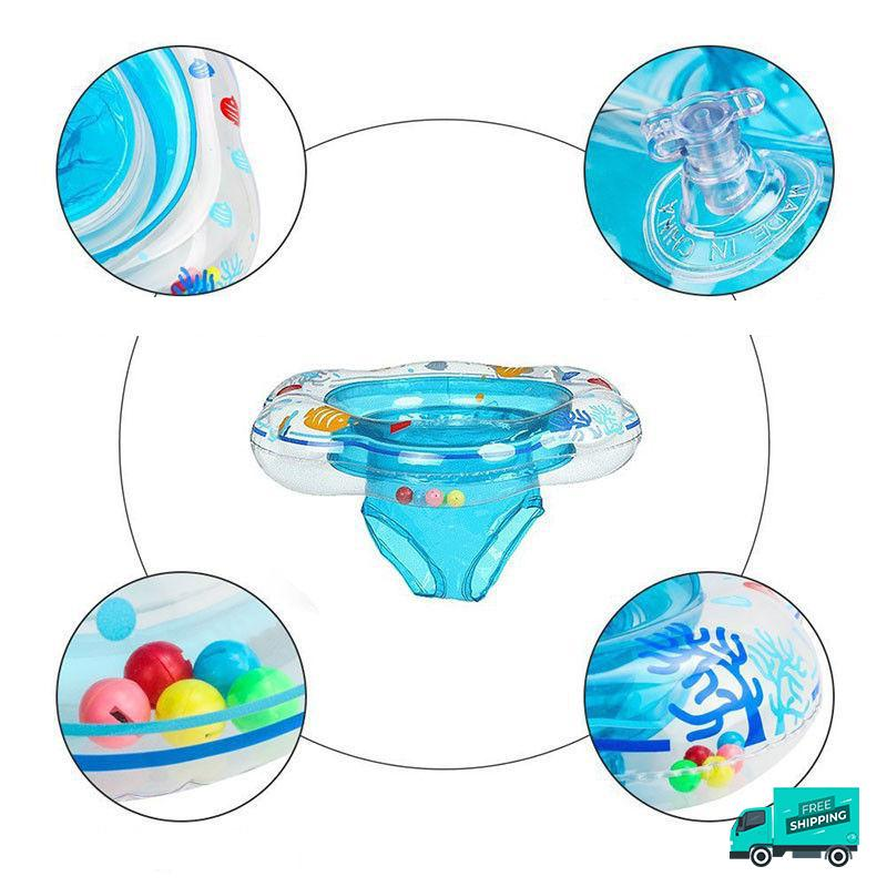 Inflatable Seat Ring Float My Toy Hub with close-up details