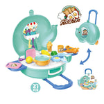 Hand carry cooking kitchen pretend play toys