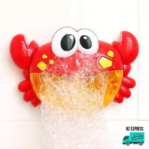 Crab bubble water bath toy with music My Toy Hub