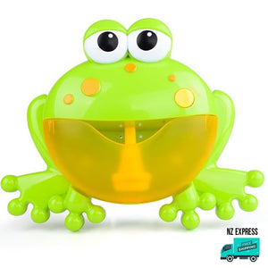Frog bubble water bath toy with music My Toy Hub