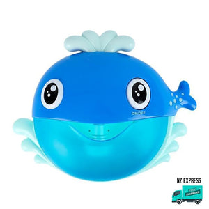 Whale bubble water bath toy with music My Toy Hub