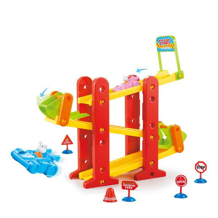 Slide ramp baby car toys