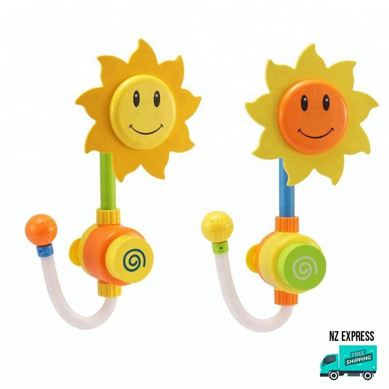 Sunflower water sprinkler bath tub My Toy Hub