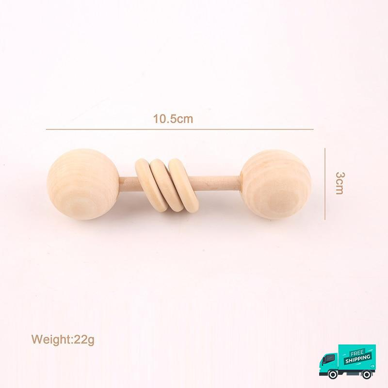 Wooden Rattle Handle design 6