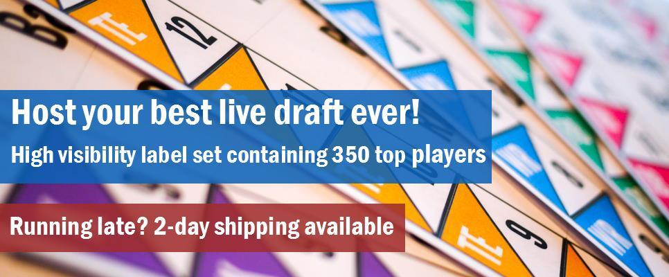 fast shipping of fantasy football draft kits across Canada