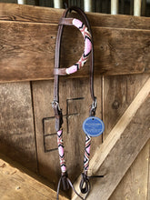 "Load image into Gallery viewer, ""Bubblegum"" Beaded Tack Set"