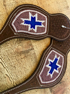 Beaded Western Spur Straps #5602