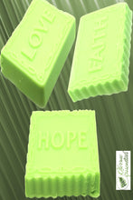 Load image into Gallery viewer, Love Hope Faith Eucalyptus Soap