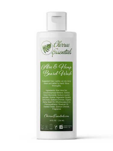 Aloe Vera Hemp Beard Wash
