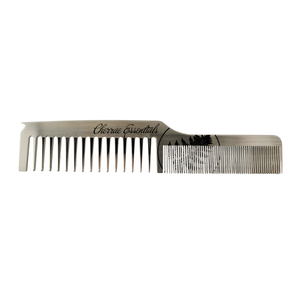 Stainless Steel Dual Tooth Parting Comb