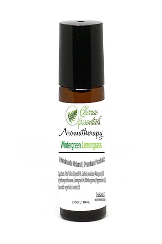 Wintergreen Essential Oil and Lemongrass Essential Oil