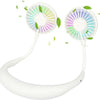 LED Aromatherapy Hanging Neck Fan