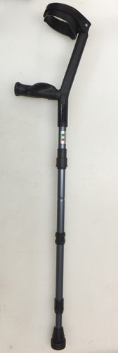 opo foldable forearm crutches made in italy - assembled
