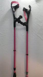 Kowsky Adult Forearm Crutches - w/ Soft Anatomical Handgrips
