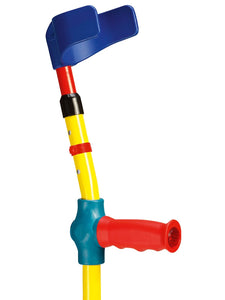 detailed ossenberg kiddie forearm crutches for children multicolor
