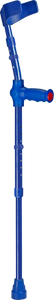ossenberg kiddie forearm crutches for children in blue