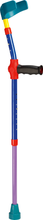 Load image into Gallery viewer, ossenberg kiddie forearm crutches for children multi-color mix 2