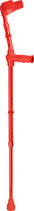 ossenberg kiddie foreram crutches for children in red