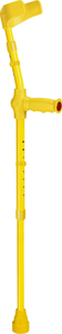 ossenberg kiddie forearm crutches for children in yellow