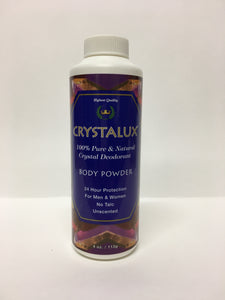 Natural deodorant body powder - Crystalux