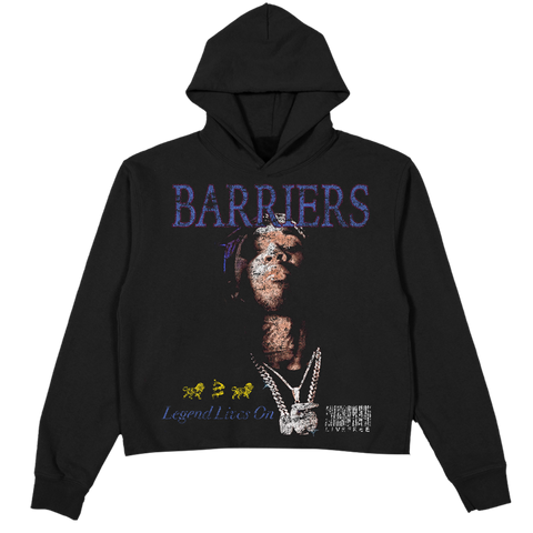 BARRIERS POP SMOKE LEGEND LIVES ON HOODIE