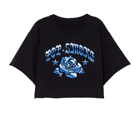 Blue Rose Crop Top + Digital Album