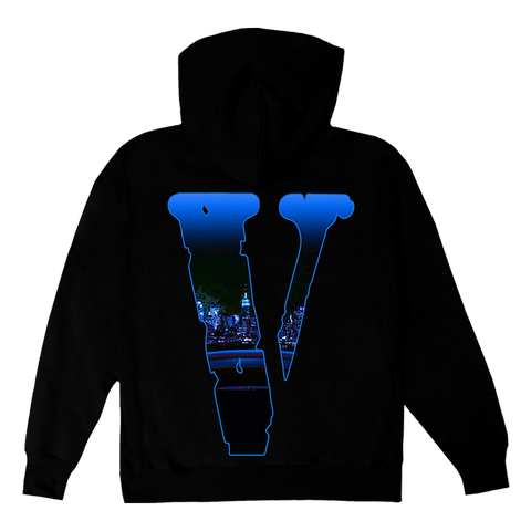 Pop Smoke x Vlone Armed N Dangerous Black Hoodie