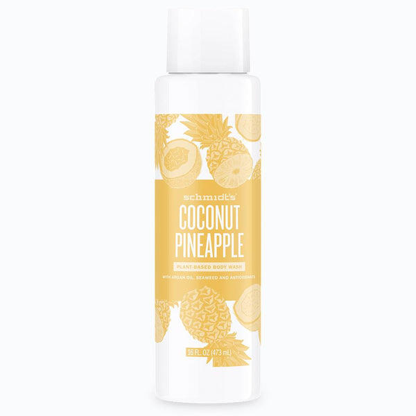 Schmidt's Naturals</br> Coconut + Pineapple Body Wash *New*