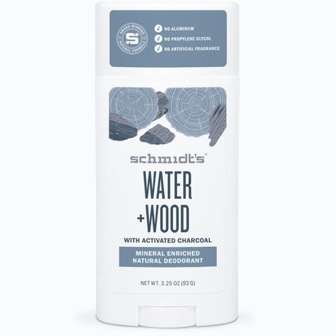 <br>Schmidt's Naturals</br> Water + Wood Deodorant Stick - *New*
