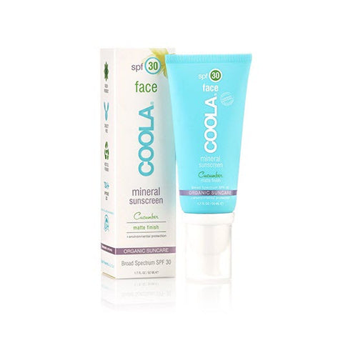 <br>COOLA</br> Mineral Face SPF 30 Cucumber Matte Finish