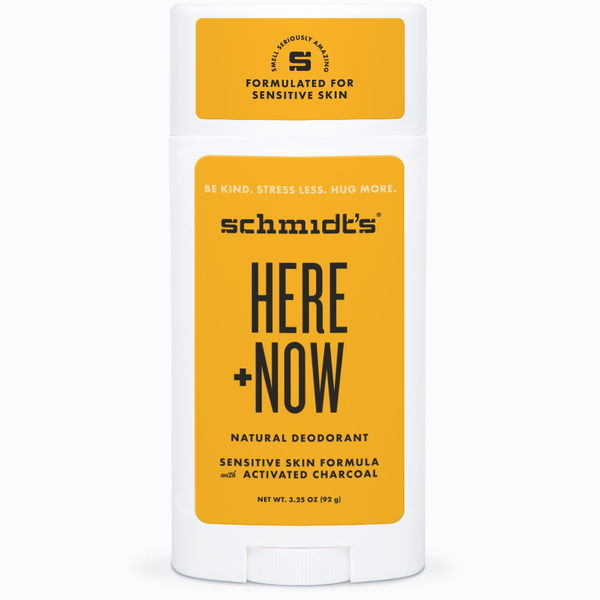 Schmidt's Naturals</br> Here + Now By Justin Bieber Sensitive Deodorant Stick - *New*