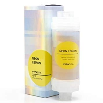 <br>Vitaspa</br> Neon Lemon Vitamin Shower Filter