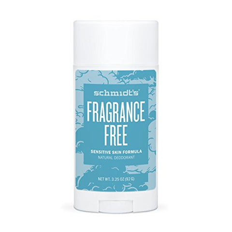 <br>Schmidt's Naturals</br> Fragrance Free for Sensitive Skin Deodorant Stick