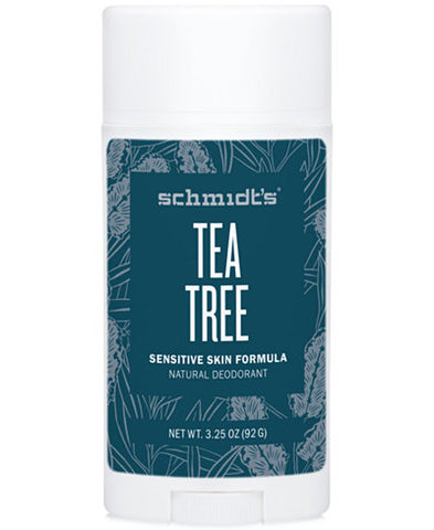 <br>Schmidt's Naturals</br> Tea Tree for Sensitive Skin Deodorant Stick