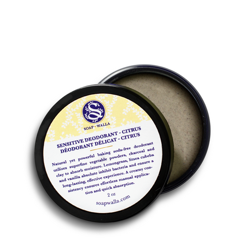 <br>Soapwalla</br> Citrus Sensitive Skin Deodorant Cream