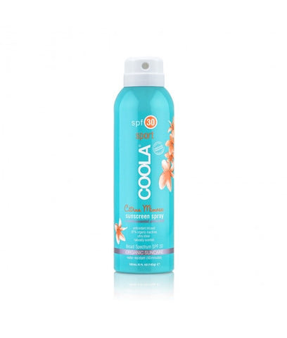 <br>COOLA</br> Sport Continuous Spray SPF 30 Citrus Mimosa