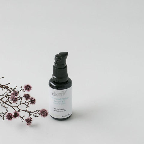 HAPPY SKINCARE</br> Fairy Godmother Serum #2 - </br>Clear & Calm </br>(for blemish-prone skin) *New*
