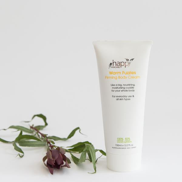 <br>HAPPY SKINCARE</br> 'Warm Fuzzies' Firming Body Cream