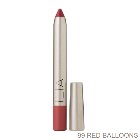 <br>ILIA</br> 99 Red Balloons Lip Crayon